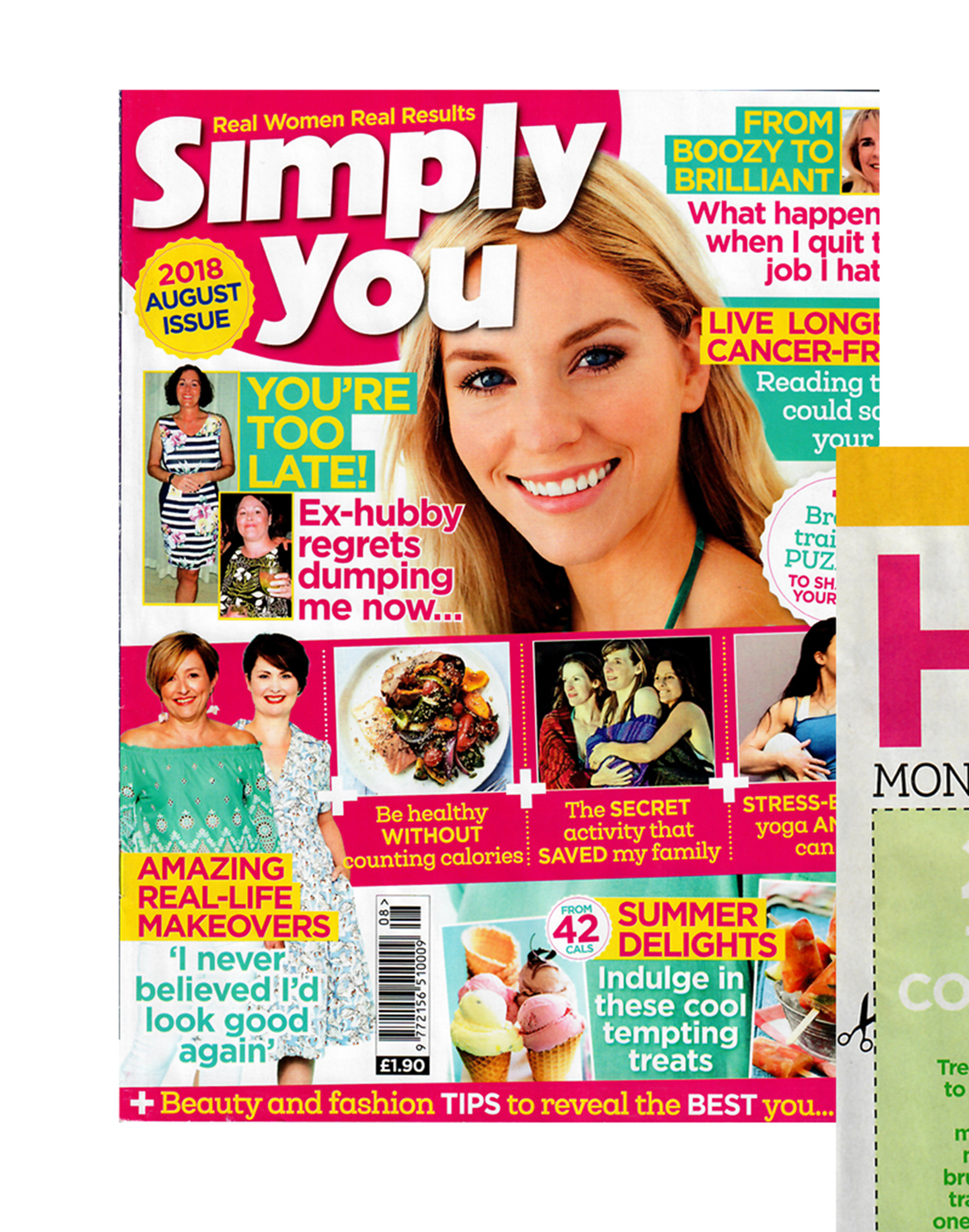 Simply You magazine - Fennel Seed - August 2018