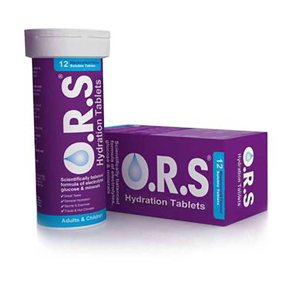Ors Hydration 12 Tablets Blackcurrant